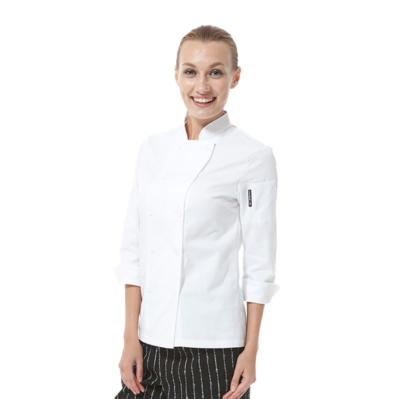 CHAQUETA MUJER CHECKED OUT CHEF CO101W