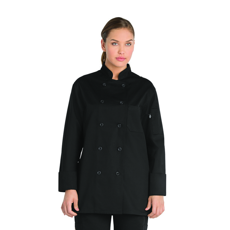 CHAQUETA MUJER DICKIES CHEF WOMENS DC414