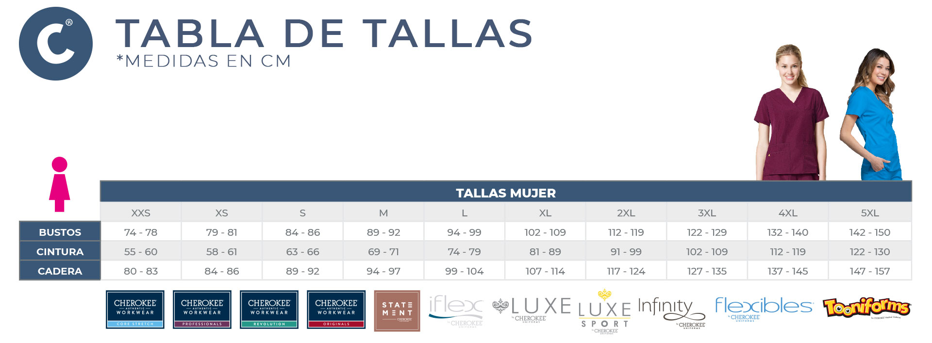 Tabla de tallas uniformes (1)